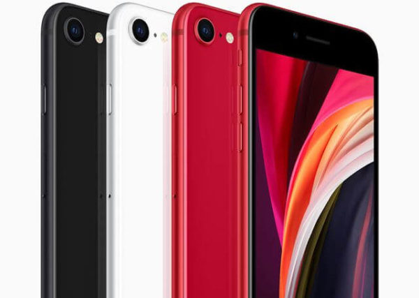 新型iPhone SE カラーバリエーション