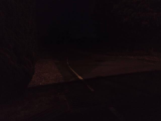 夜撮影(真っ暗)